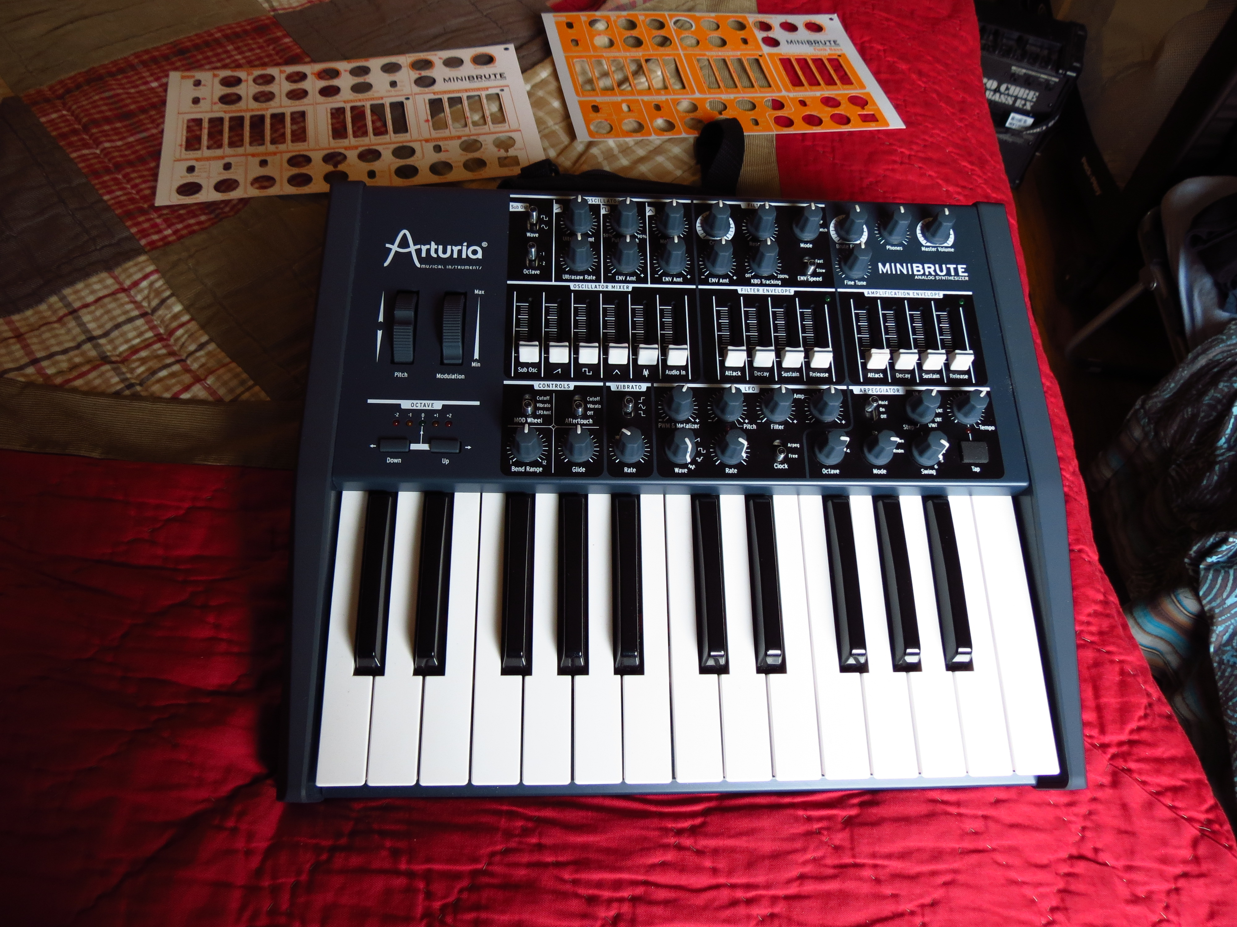 MiniBrute Monophonic Synthesizer